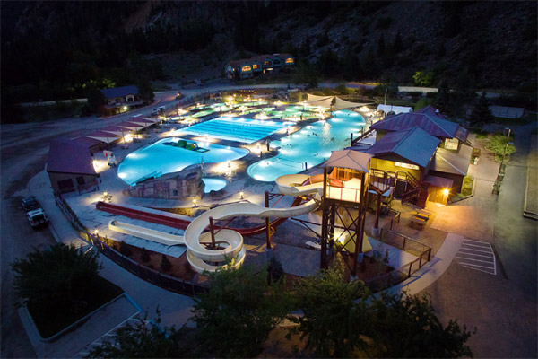 Ouray Hot Springs Swimming Pool Honored as Aquatics International Dream Design